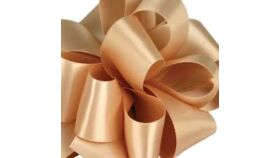 Image of a 1 & 1/2 Inch Raw Silk Ribbon
