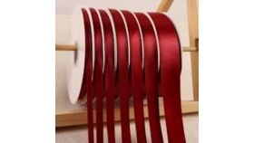 Image of a 1 & 1/2 Inch Burgundy Ribbon
