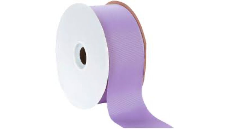 Picture of a 1 & 1/2 Inch Lite Orchid Ribbon