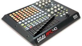 Image of a Akai APC40 MIDI controller