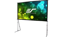 """Image of a 135"""" Folding Projection Screen"""