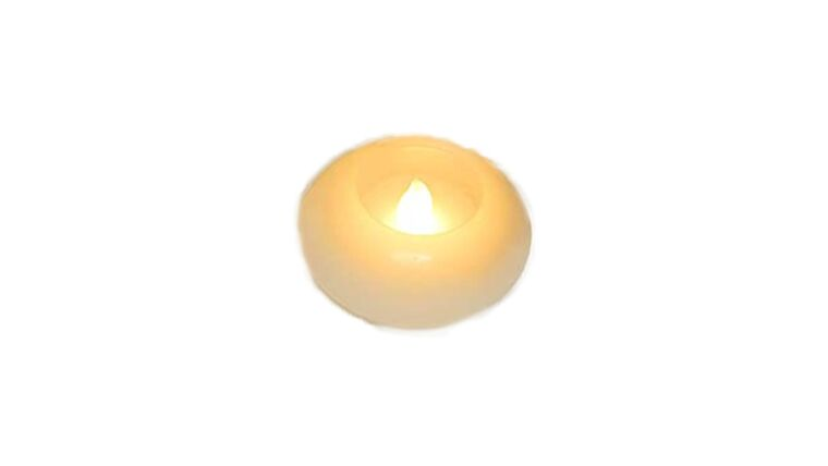 "Picture of a 3"" Floating Flameless LED Candle"
