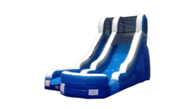 Image of a Blue Water Slide