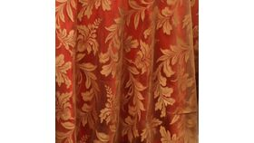 """Image of a 120"""" Gold Lucerne Lace Tablecloths"""