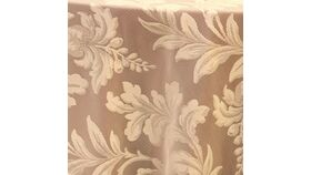 """Image of a 120"""" Ivory Lucerne Lace Tablecloths"""