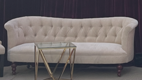 Image of a 6ft - Vintage Fabric Sofa