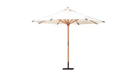Image of a 11' H - White Market Umbrella