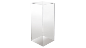 Image of a 30in H x 12in - Clear Acrylic Pedestal
