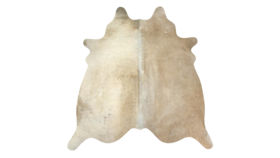 Image of a Champagne Cowhide Rug