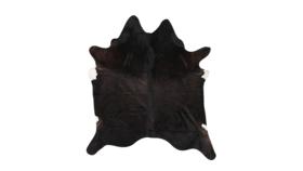 Image of a Black Hide Rug