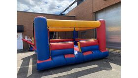 Image of a Bouncy Boxing Ring Inflatable