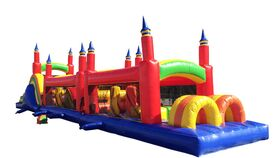 Image of a 60 Foot Obstacle Course