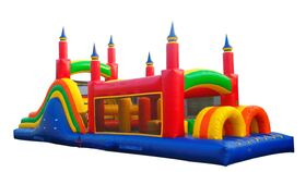 Image of a 40 Foot Obstacle Course
