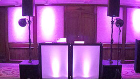 Image of a Black Light Up Front Board Upgrade