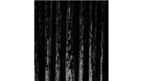 Image of a Drape - Crushed Velvet, Black - 18' x 5'