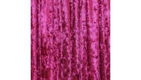 Image of a Drape - Crushed Velvet, Fuchsia | Hot Pink - 18' x 5'