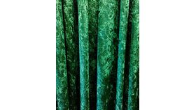 Image of a Drape - Crushed Velvet, Emerald Green - 18' x 5'