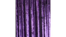 Image of a Drape - Crushed Velvet, Purple - 18' x 5'