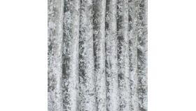Image of a Drape - Crushed Velvet, Silver - 9' x 5'
