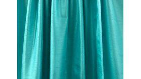 Image of a Drape - Shantung, Aqua - 18' x 5'