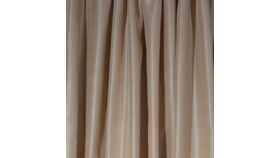 Image of a Drape - Shantung, Dark Gold - 12' x 5'