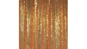 Image of a Drape - Sequin, Gold - 18' x 5'