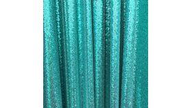 Image of a Drape - Sequin, Teal - 18' x 5'