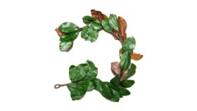 "Image of a Greens - Faux Magnolia Leaf Garland 62"" L"