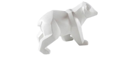 "Image of a Animal - Polar Bear, White - SM 4.5"" H x 7"" L x 4"" W"