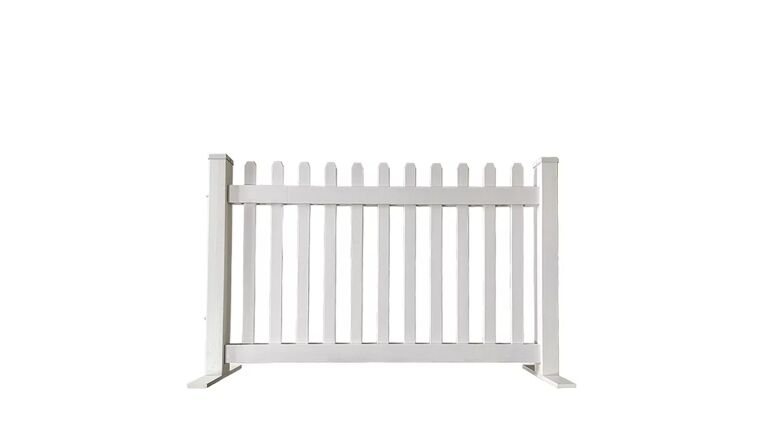 Picture of a Fence - Picket, White - 6' W Section
