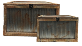"""Image of a Decor - Fisherman's Wharf Crate (Set of 2) - 10 - 11"""" H"""