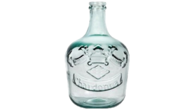 """Image of a Bottle - """"Chardonnay"""" Growler, Clear - 12.5"""" H x 8"""" Dia"""