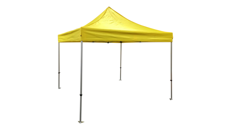 Picture of a Tent - Pop Up, Yellow - 10' x 10'