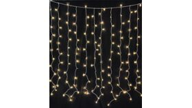 Image of a Lighting - LED Light Curtain (plug-in), Warm White - 9' H x 9' W