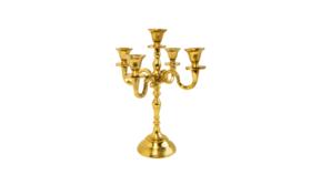 "Image of a Candelabra - Gold - 12"" H"