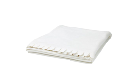 "Image of a Throw - Fleece Blanket, White - 51"" x 67"""