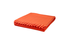 "Image of a Throw - Fleece Blanket, Orange - 51"" x 67"""