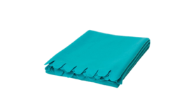 "Image of a Throw - Fleece Blanket, Turquoise - 51"" x 67"""