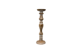 """Image of a Candle Holder - Tuscan Candlestick - MED 16"""" H"""