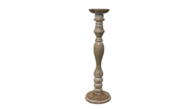 """Image of a Candle Holder - Tuscan Candlestick - LG 20"""" H"""