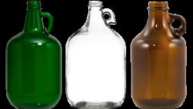 "Image of a Bottle - Vintage Growler Jug, Various Colours - 13-14"" H"