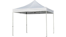 Image of a Tent - Pop Up Tent, White - 10' x 10'