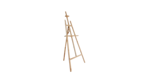"""Image of a Easel - Wood, Natural - LG 66"""" H x 22"""" W"""