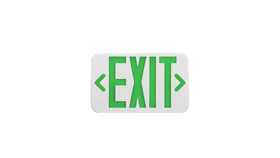 Image of a Sign - Exit, Green