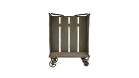 Image of a Settee, Amarillo Industrial Cart