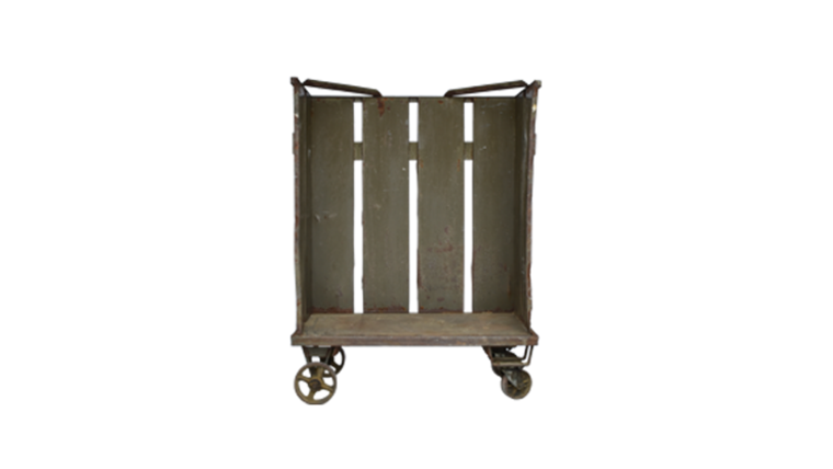 Picture of a Settee, Amarillo Industrial Cart