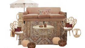 Image of a Boho Lounge  - CA