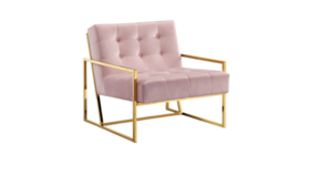 Image of a Halston Velvet Chair