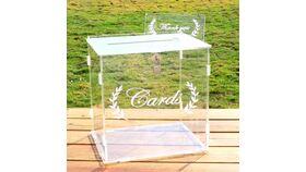 Image of a Acrylic Wedding Card Box