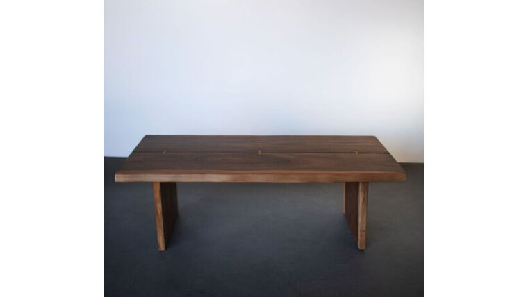 Picture of a Gisele Brown Wood Coffee Table